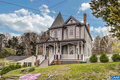 Albemarle County Single Family Home For Sale: 210 Jackson St