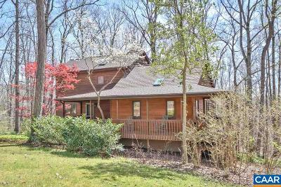 Charlottesville Single Family Home For Sale: 3272 Buck Island Rd