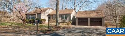 Charlottesville Single Family Home For Sale: 1805 Easy Ln