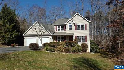 Fluvanna County Single Family Home For Sale: 11 Locks Ct