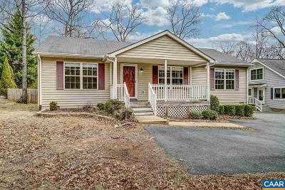 Fluvanna County Single Family Home For Sale: 733 Jefferson Dr