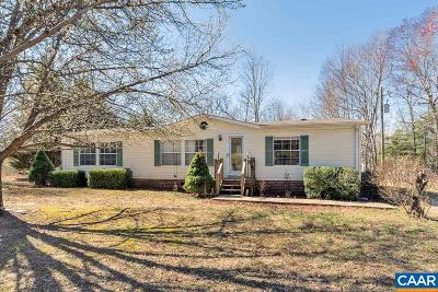 Scottsville VA Single Family Home For Sale: $117,500