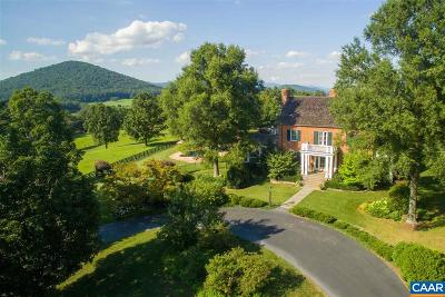 Charlottesville Single Family Home For Sale: 4780b Catterton Rd