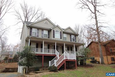 Fluvanna County Single Family Home For Sale: 57 Amethyst Rd