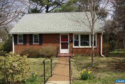 Charlottesville County Single Family Home For Sale: 1211 St George Ave