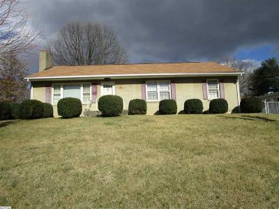 Staunton VA Single Family Home For Sale: $128,000