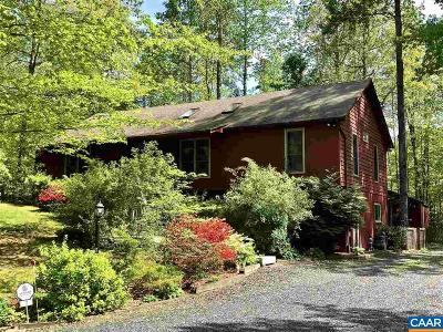 Fluvanna County Single Family Home For Sale: 7 Monish Dr