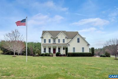 Scottsville Single Family Home For Sale: 53 Antioch Springs Ln