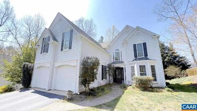 Charlottesville Single Family Home For Sale: 309 Leaping Fox Ln