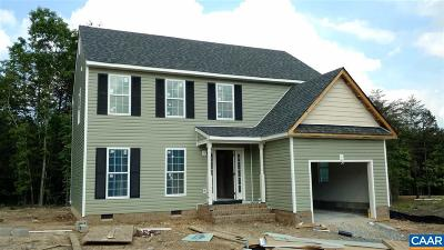 Fluvanna County Single Family Home For Sale: Lot 45 Trillium Ln #Lot 45
