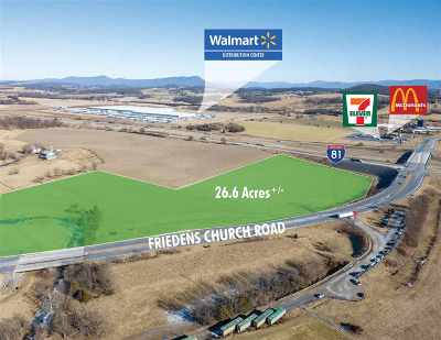 Mount Crawford Lots & Land For Sale: Friedens Church Rd