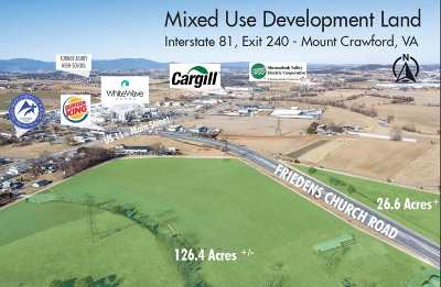 Mount Crawford Lots & Land For Sale: 210 Friedens Church Rd