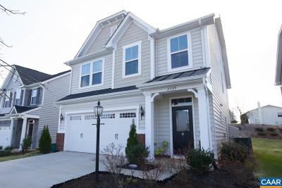 Charlottesville Single Family Home For Sale: 2339 Jersey Pine Rdg