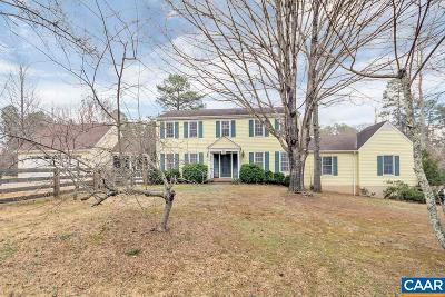 Charlottesville Single Family Home For Sale: 1505 West Pines Dr