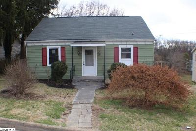 Staunton VA Single Family Home For Sale: $119,500