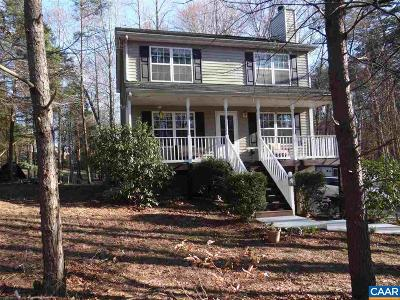 Fluvanna County Single Family Home For Sale: 4 Bunker Blvd