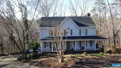Charlottesville Single Family Home For Sale: 1822 Hearthglow Ln