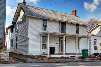 Mount Crawford Single Family Home Sold: 163 South Main St