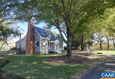 Scottsville Single Family Home For Sale: 529 James River Rd