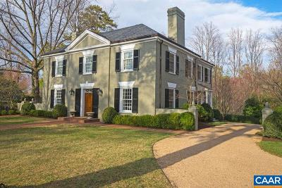 Charlottesville County Single Family Home For Sale: 2011 Spotswood Rd