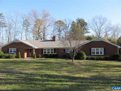 Scottsville VA Single Family Home For Sale: $319,300