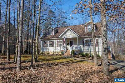 Fluvanna County Single Family Home For Sale: 33 Riverside Dr