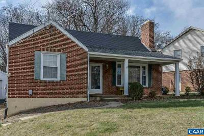 Staunton VA Single Family Home For Sale: $167,500