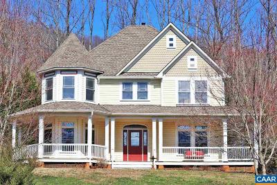 Charlottesville Single Family Home For Sale: 2120 Masseys Woods Rd