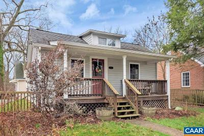 Charlottesville County Single Family Home For Sale: 1608 Mulberry Ave