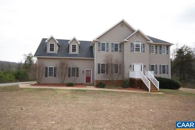 Single Family Home For Sale: 3331 Old Lynchburg Rd