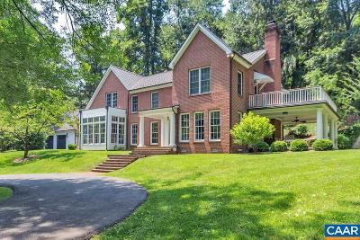 Charlottesville Single Family Home For Sale: 205 Rowledge Rd