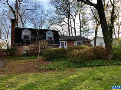 Charlottesville Single Family Home For Sale: 714 Shamrock Rd