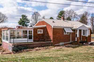 Rockingham County Single Family Home For Sale: 2818 Port Republic Rd