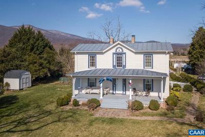 Nelson County Single Family Home For Sale: 27 Chapel Hollow Rd