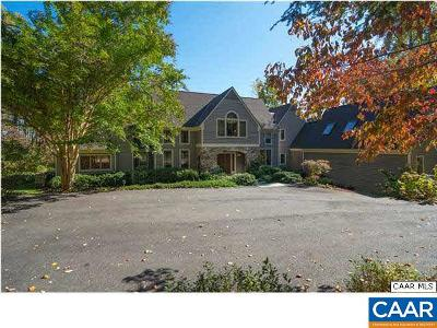 Charlottesville Single Family Home For Sale: 200 Fox Hill Rd