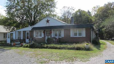Buckingham County Single Family Home For Sale: 30588 N James Madison Hwy