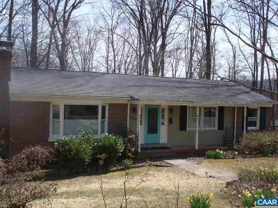Charlottesville Single Family Home For Sale: 108 Village Ct