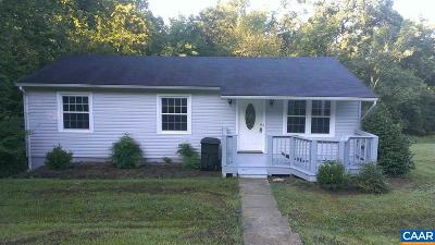 Single Family Home For Sale: 7281 Corville Farm Rd