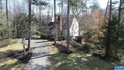 Charlottesville Single Family Home For Sale: 1275 Copperstone Dr