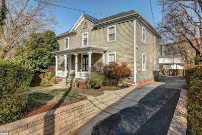 Charlottesville Single Family Home For Sale: 921 Cherry Ave