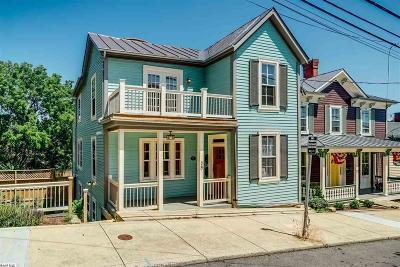 Staunton Single Family Home For Sale: 29 S Coalter St