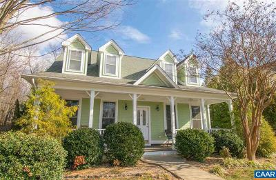 Albemarle County Single Family Home For Sale: 1892 Clay Dr