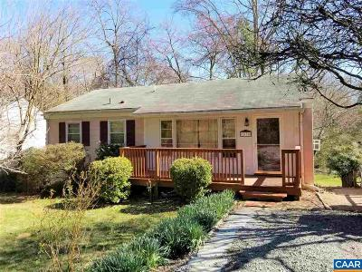 Charlottesville Multi Family Home For Sale: 1638 Center Ave