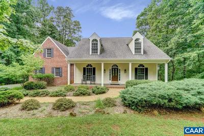 Albemarle County Single Family Home For Sale: 440 Lego Dr