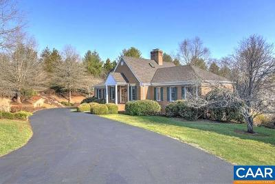 Charlottesville Single Family Home For Sale: 350 Barracks Hl