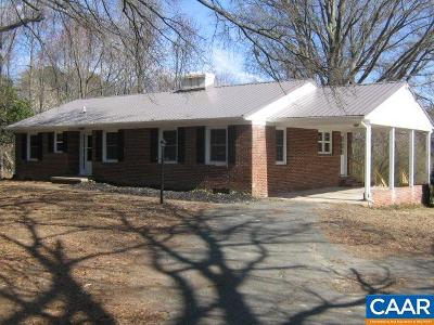 Single Family Home Sold: 5354 James Madison Hwy