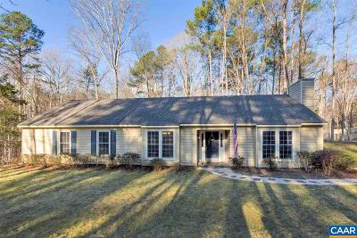 Albemarle County Single Family Home For Sale: 860 Buckhorn Trl