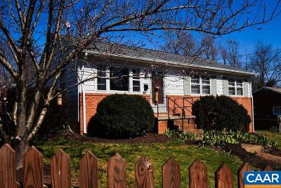 Charlottesville Single Family Home For Sale: 105 Thomas Dr