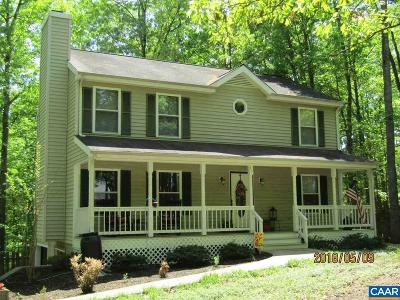 Fluvanna County Single Family Home For Sale: 51 Englewood Dr