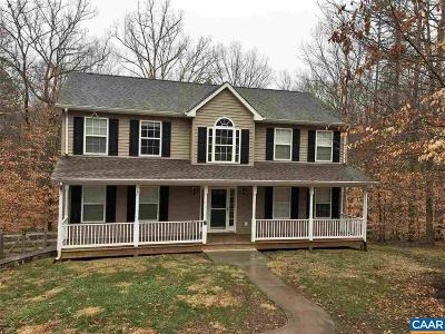 Fluvanna County Single Family Home For Sale: 4 Burke Ct